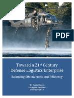 21 Stcentury Logistics Support