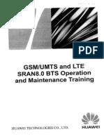 Huawei - Curso Operacion y Mantenimiento BTS SRAN 8.0 - 1 de 6