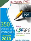 Portugues Cespe 2010