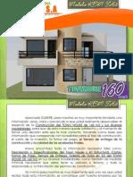 Especificaciones y Costos de Townhouse Modelo Kem-th-3 de 160 m2 (Enero 2014) Otros Estados