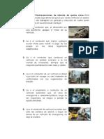 Artículos de las Contravenciones de Transito