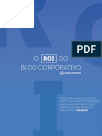 O ROI Do Blog Corporativo