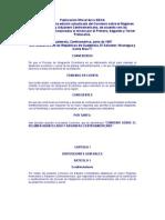 Convenio Régimen Arancelario y Aduanero