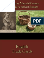 Containers - Baskets - English & American