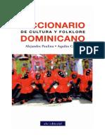 Alejandro Paulino y Aquiles Castro - Diccionario de Cultura y Folklore Dominicano
