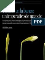Cambio en La Banca - Un Imperativo de Negocio.