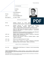CV Organista ToNies