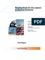 CAS3 - Ammoniakk CO2 capture NETL febr. 2005