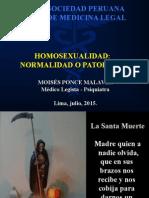 Homosexualidad Normalidad o Patologica