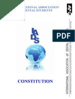 Iads Constitution