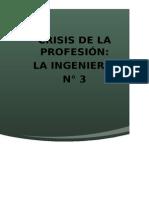 Crisis en La Profesion