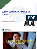 Diapositivas Coaching y Trabajo en Equipo
