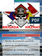 Capacitacion Basico Brigada Hazmat