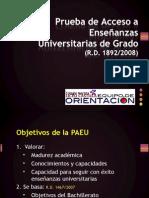 Prueba de Acceso a Enseñanzas Universitarias_PAEU_Equipo Orientación Liceo Castilla