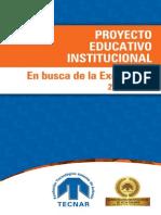 proyecto educativo tecnar