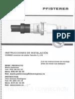 Instrucciones de Instalacion Phisterer