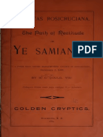 SRIA - The Path of Rectitude or Ye Samian Y (1889) (S.C. Goul)