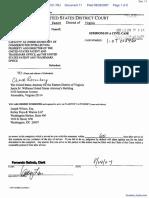 Tafas v. Dudas et al - Document No. 11