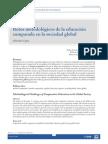 Retos Metodologicos de La Educación Comparada