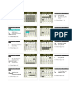 rainshadow 2015-16  calendar