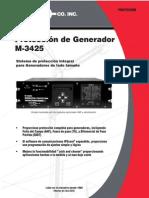 M 3425 SP Spanish