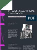 Inteligencia Artificial y Educación