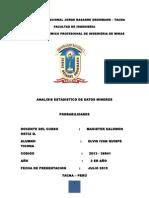 Informe de Estadistica 4