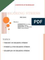 Bearing Stress
