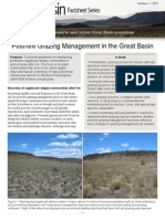 Post-Fire Grazing Management in the Great Basin