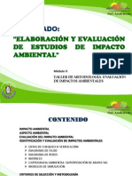 PPT. Metodología de Evaluación de Impactos Ambientales (1)