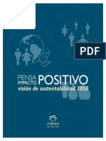 Vision de Sustentabilidad 2050