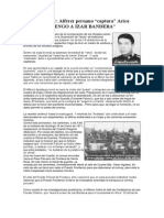 Militar Peruano Toma Arica