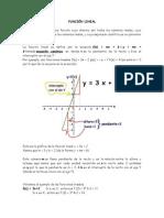 Función Lineal Taller