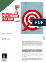 Click Predictions 2010