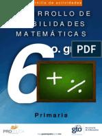 Cuadernillo Mat 6 Prim Web