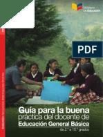 Guia para la buena practica del docente de Educacion General Basica de 2 a 10 grados (Docentes Ecuador).pdf