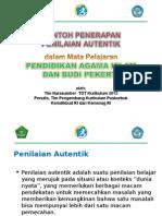 Contoh Penerapan Autentik Pai-bp_sd