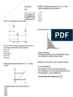 Lista Geometria Analitica
