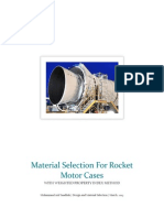 Material Selection for Rocket Motor Cases