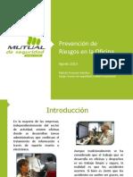 Presentacion Prevencion de Riesgos en La Oficina