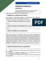 Seminario Troncal I Problemas Fundamentales a. Vega y a. Araya