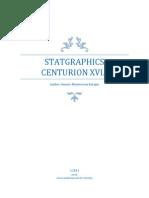 Manual Statgraphics Centurion XVI