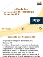 Present Ac i ó n Acuerdo 593