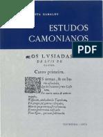 Camões - Da Costa Ramalho, Américo - Estudos Camonianos (1975)