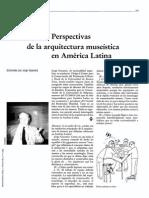 Gazaneo - Perspectivas de La Arquitectura Museistica en América...