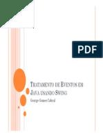 Tratamento de Eventos Em Java Usando Swing