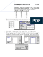 SPSS.PairedTTests