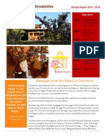 Kathok Annual Newsletter 2015