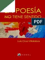 2013- La Poesia No Tiene Sentido - Lcv