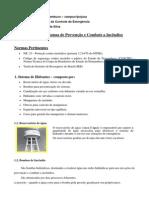 Principais Sistemas de Prevenção e Combate a Incêndios